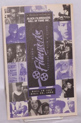 Black filmworks festival of film & video; April 16 thru April 25, 1992