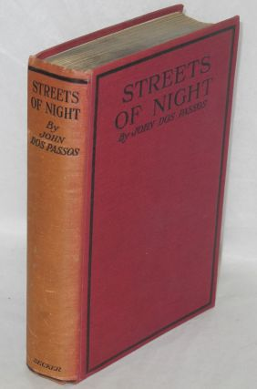 Streets of night. John Dos Passos