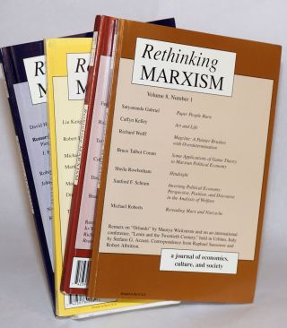Rethinking Marxism Vol. 8, No. 1, Spring, 1995 to Vol. 8, No. 4, Winter, 1995. Jack Amariglio, ed
