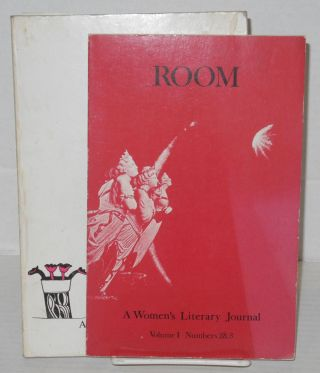 Room: a women's literary journal; vol. I, #I, 2/3 & 5 [four issues in three books - 2/3 a double-issue]