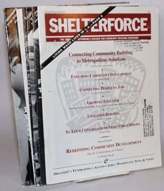 Shelterforce Vol. 20, No. 1, January-February, 1998 to Vol. 20, No. 6, November-December, 1998....