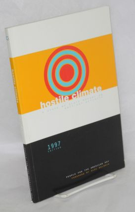 Hostile climate; a state by state report on anti-gay activity, 1997 edition