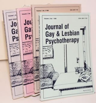 Journal of Gay & Lesbian Psychotherapy: vol 1, no. 1, 1989 - #4, 1991
