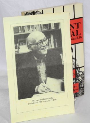 Dissent on trial: the story of a political life. Foreword by Harry Bridges