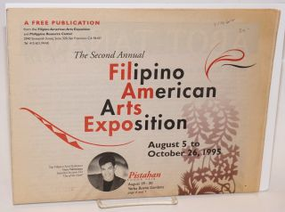 The second annual Filipino American arts exposition; August 5 to October 26, 1995 (newspaper
