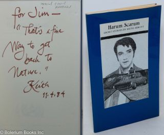 Harum Scarum: short stories [signed]. Keith Abbott, Gaylord Schanilec