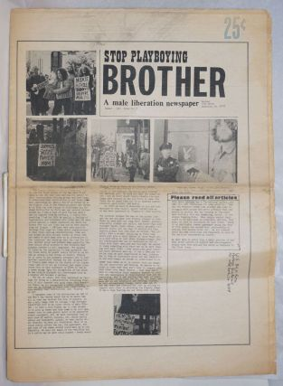 Brother: a male liberation newspaper; #2, Summer 1971