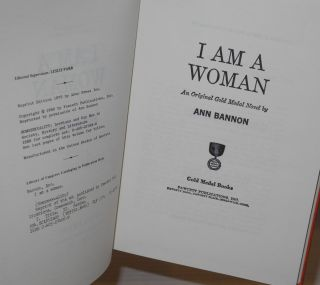 I am a woman; an original Gold Medal novel