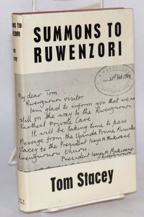 Summons to Ruwenzori. Tom Stacey