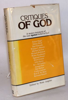 Critiques of God. Peter Angeles, ed