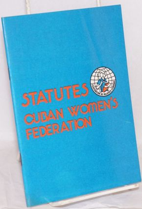 Statutes, Cuban women's federation