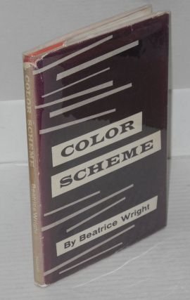 Color scheme; selected poems