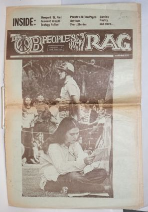 The OB People's Rag; Ocean Beach, California, volume III, number 5, Late November, 1972