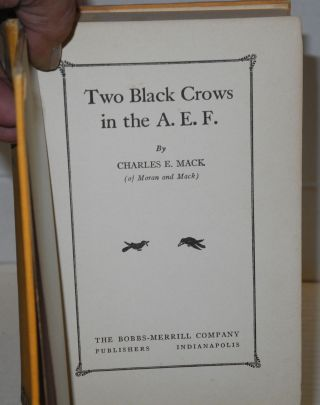 Two black crows in the A. E. F