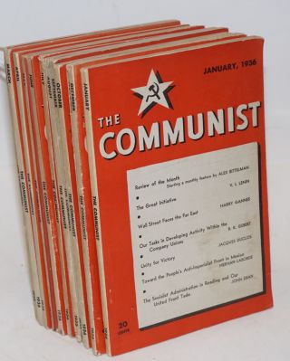 The Communist; a magazine of the theory and practice of Marxism-Leninism. Vol. 15 no. 1 to 12, ...