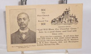 Donation card]. St. Matthew A. M. E. Zion Church