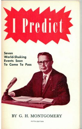 I predict: things which must shortly come to pass. Fifth edition
