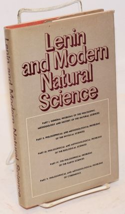 Lenin and modern natural science. M. E. Omelyanovsky.