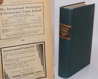 The International Stereotypers & Electrotypers' Union Journal. Vol. 32, no. 1, January, 1937 to...