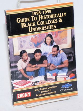 1998-1999 guide to historically black colleges & univeristies