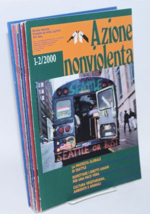 Azione nonviolenta (Nonviolent action). 2000: issues 1-12