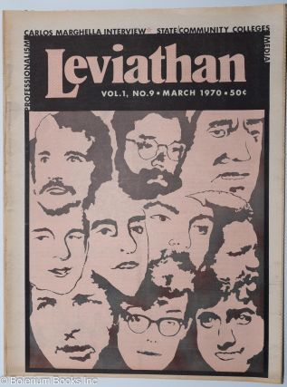 Leviathan. Vol. 1 No. 9 (March 1970). Carlos Marghella [sic] Interview. Carlos Marighella