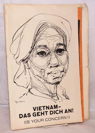 Vietnam - das geht dich an! (Vietnam is your concern) [11 prints in a folio]