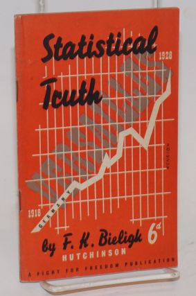 Statistical truth; preface by George Gibson. Translated from German by E. Fitzgerald. K. F. Bieligk