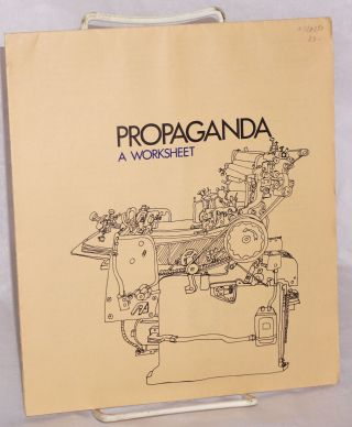 Propaganda: a worksheet