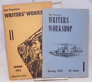 San Francisco Writers' Workshop magazine [Two issues: Spring 1952, Spring 1953]. California Labor School.