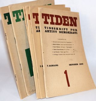 Tiden: Tidsskrift for aktivt Demokrati [Time: Journal for active democracy]. (Danish