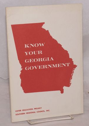Know your Georgia government