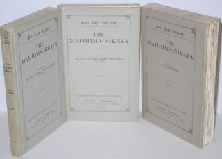 The Majjhima-Nikaya [set, three volumes]
