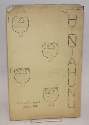 Hintahunu; volume one, number one, 13th July, 1962