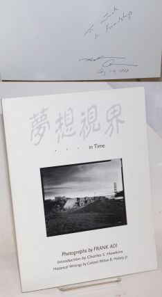 Musoshikai (the dreamvision) volume two, in time [signed]. Frank Aoi, historical, photographs,...