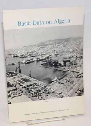 Basic data on Algeria