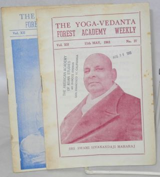 The Yoga-Vedanta Forest Academy Weekly.; Vol. X, No. 11-12; Vol. XII, Nos. 36, 37, 38