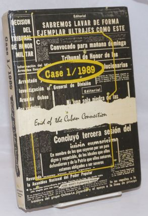 Case 1 / 1989, End of the Cuban Connection