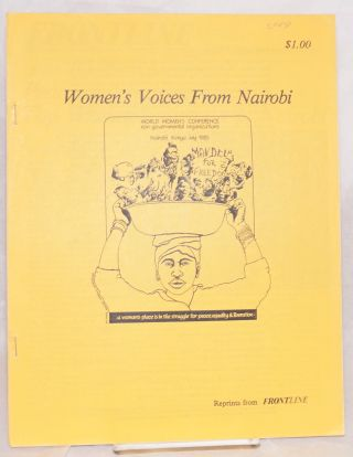 Women's voices from Nairobi: reprints from Frontline