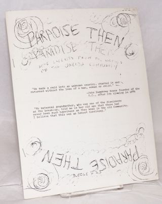 Paradise then: some excerpts from the writings of the Oneida community. (Noose #23)