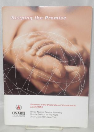 Keeping the Promise: summary of the declaration of committment on HIV/AIDS