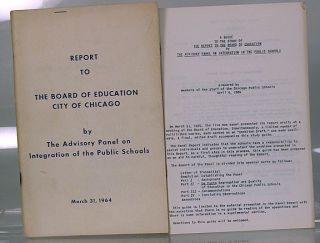 Report to the Board of Education, city of Chicago