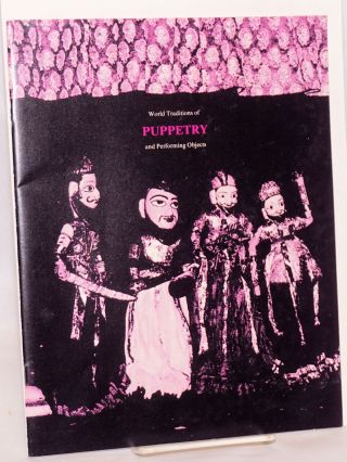 International, Interdisciplinary Conference on World Traditions of Puppetry and performing...