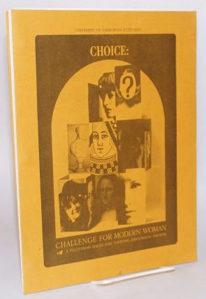 Choice: challenge for modern woman. A television series and viewing-discussion groups
