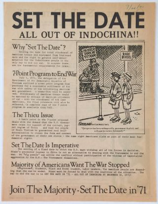 Set the date: all out of Indochina!! [handbill