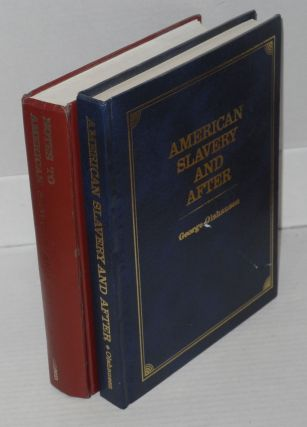 American slavery and after [with] Notes to American slavery and after [pair]. George Olshausen
