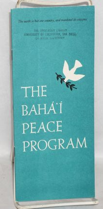 The Baháí peace program
