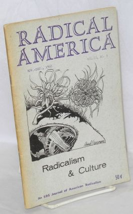 Radical America: an SDS journal of American radicalism. Vol. 2, No. 6, Nov.-Dec. 1968
