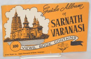 Guide album of Sarnath Varanasi; 100 views, book contains