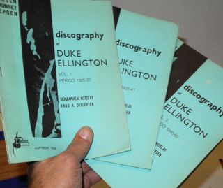 Discography of Duke Ellington; biographical notes by Knud H. Ditlevsen. Jorgen Grunnet Jepsen